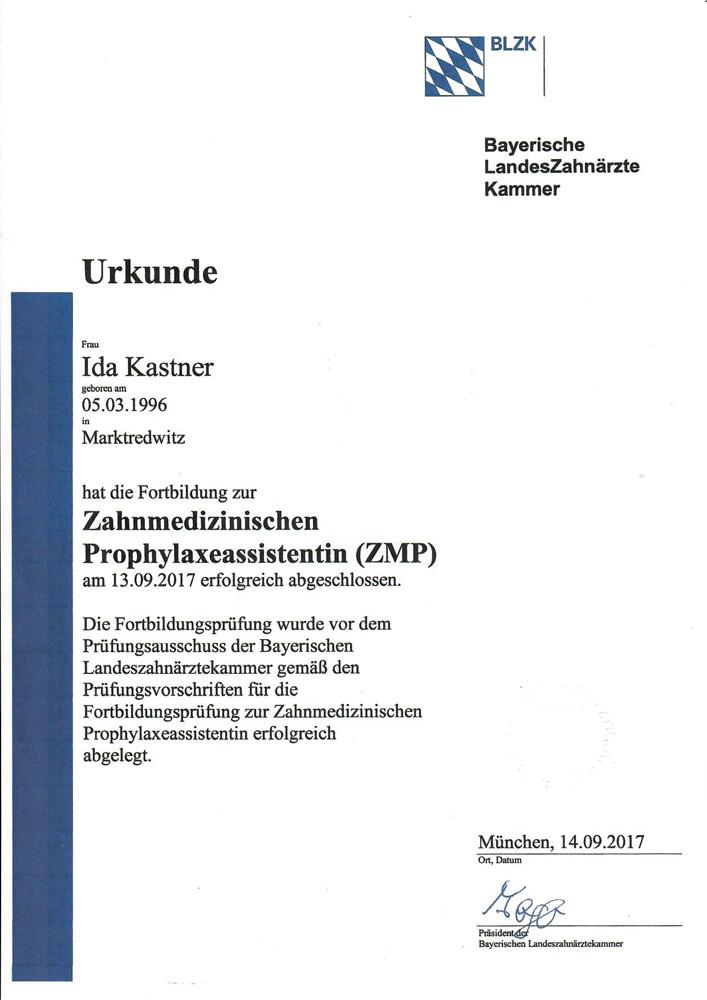ZMP Ida Kastner